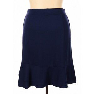 Land's End Stretchy Ruffled Skirt Size 16/18 1X
